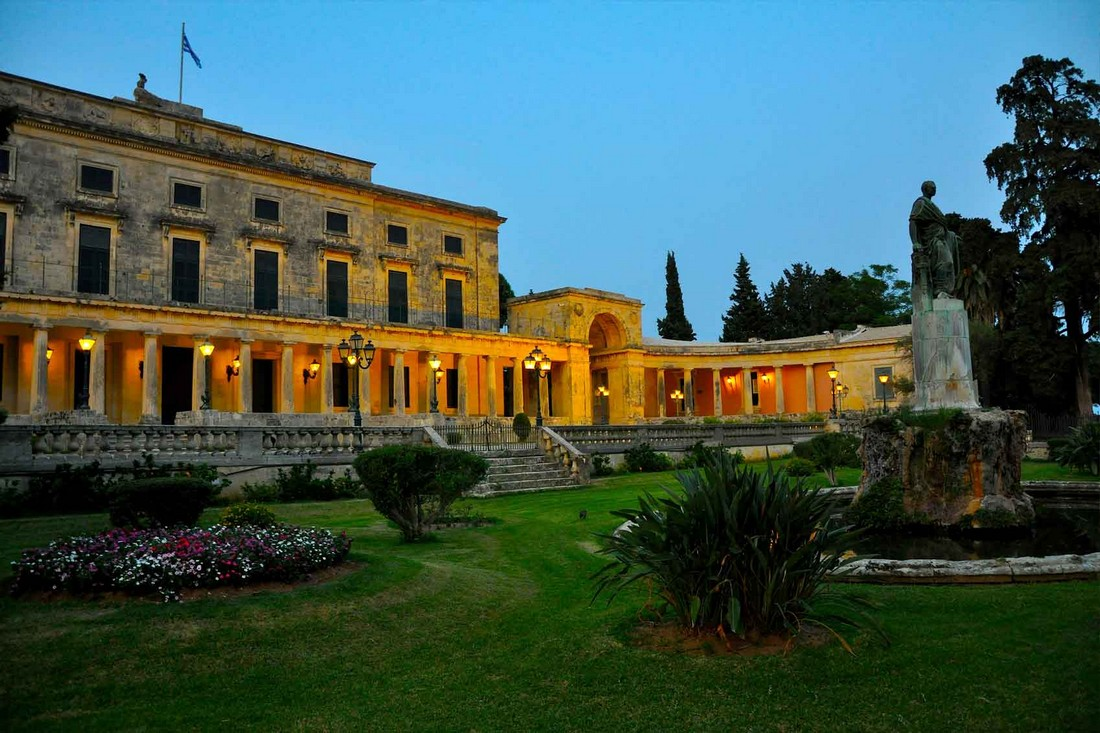 Palace of St. Michael and St. George-corfu-greece-00001
